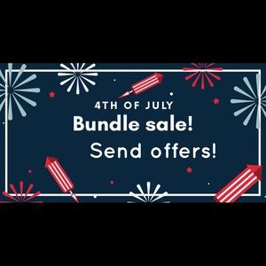 4th of July deals all week!!!!